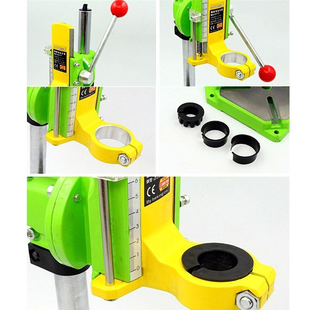 Xiangtat Bench Drill Stand/Press Mini Electric Drill Carrier Bracket 90° Rotating Fixed Frame by Xiangat (Image #6)