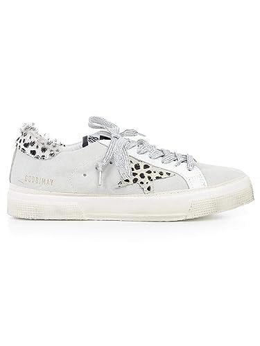 5d6e74a730d7a Amazon.com | Golden Goose Deluxe Brand Women's May Sneakers Calf ...