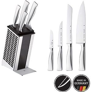 Compra WMF Juego de cuchillos, 3 piezas, cuchillo para ...