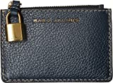 Marc Jacobs Women's The Grind Top Zip Multi Wallet Blue Sea One Size