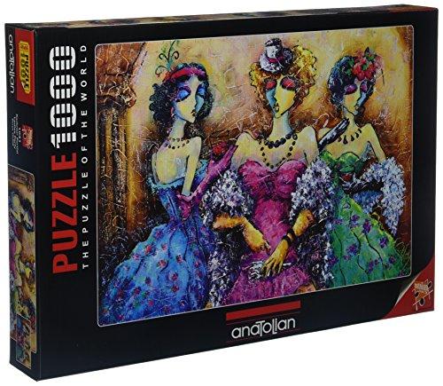 Anatolian Ladies Party Jigsaw Puzzle (1000 Piece) by Anatolian