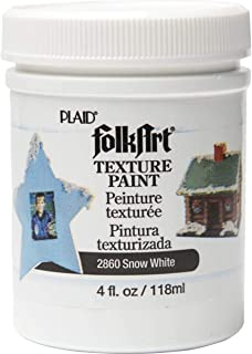 product image for FolkArt Texture Paint in Assorted Colors (4 Ounce), 2860 White