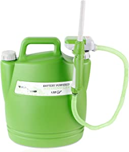 TERA PUMP - Save Your Back - No More Watering Can Lifting/Electric Water Transfer Pump for Watering Your Garden (Small Hose)
