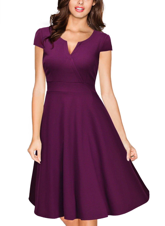 Vestidos Cortos Plisados Mujer: Amazon.es