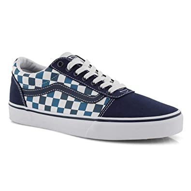 vans checkered chaussures with laces