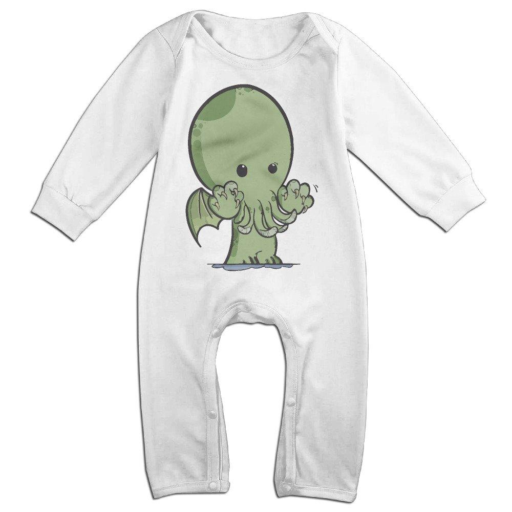 Takemeaway Love Cthulhu Octopus Baby Onesie Bodysuit Infant Romper