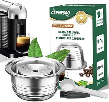 CAPMESSO Creamy Nespresso Refillable Capsule