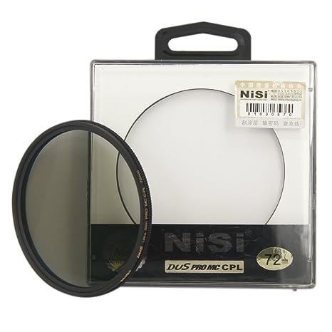 NiSi 72mm Ultra Slim Circular Polarizing Multi Coated PRO MC CPL Filter Polarizing Filters