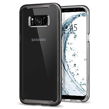Spigen Funda Galaxy S8 Plus, Carcasa [Neo Hybrid Crystal] Funda Interna Flexible y Marco de Parachoques Duro Reforzado para Galaxy S8+ (2017) - ...