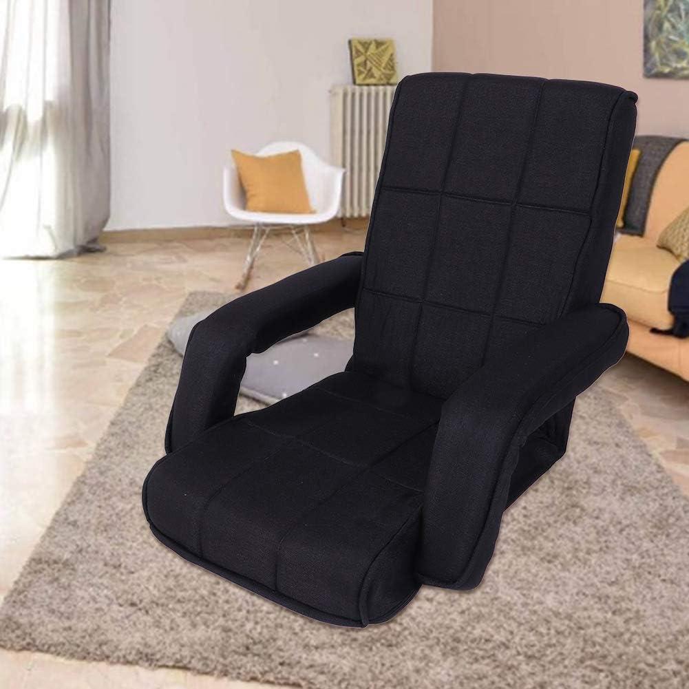 Zoternen Chaise de Plancher Pliable Model 1 Chaise de Sol Chaise de Lit Si/ège Chaise de Jeu Confortable Canap/é Paresseux pour Maison Bureau Salon Dossier R/églable /à 5 Position