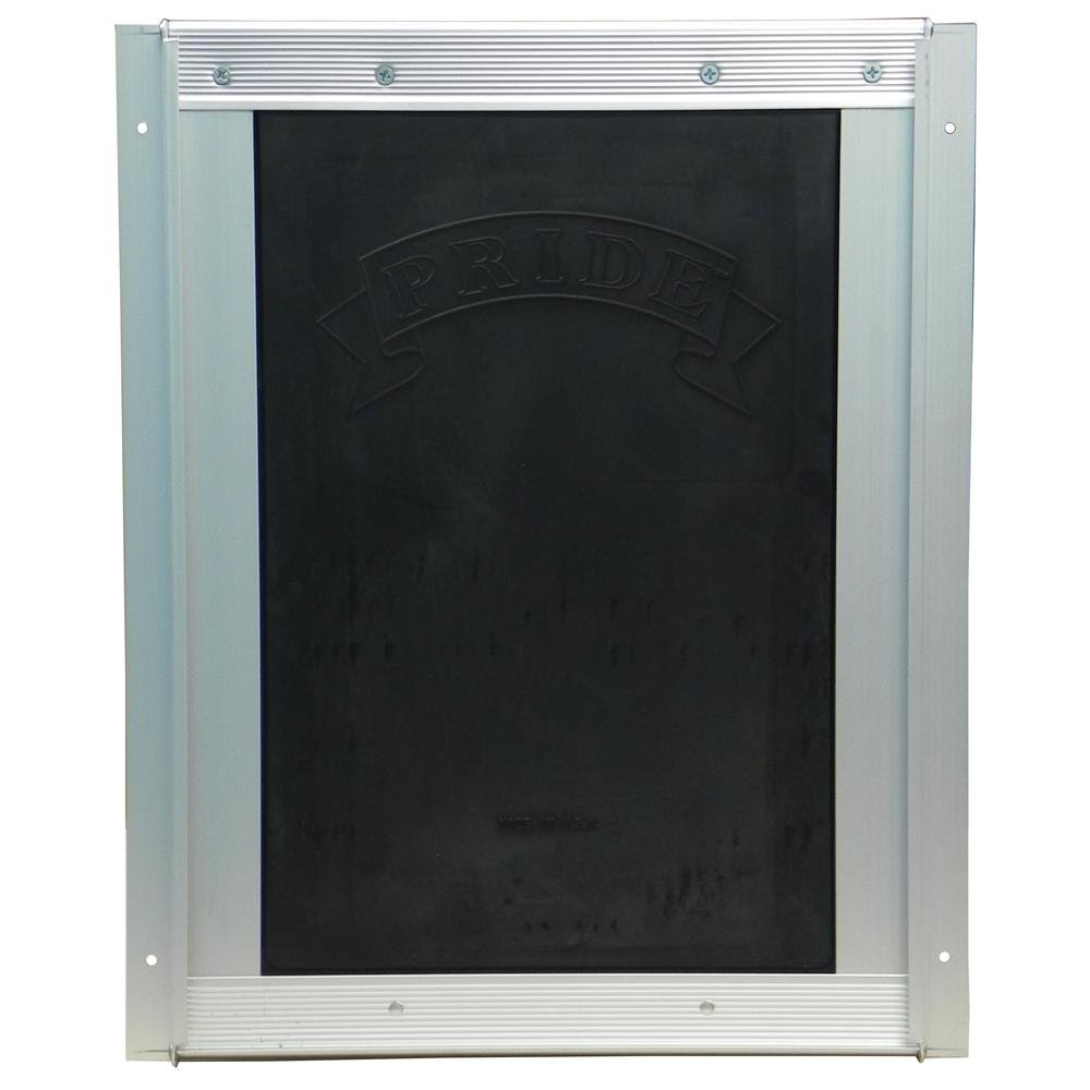 Pride Anodized Silver Pet Door XLarge XLD600 by Pride Deluxe