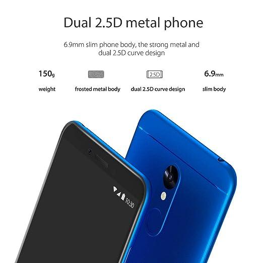 Vernee M6 SIM Free Mobile Phones, 4GB RAM/64GB ROM, 4G Dual SIM Smartphone  Unlocked, 16MP Rear/13MP Front Cameras, 5 7 Inch HD Display, 3300 mAh