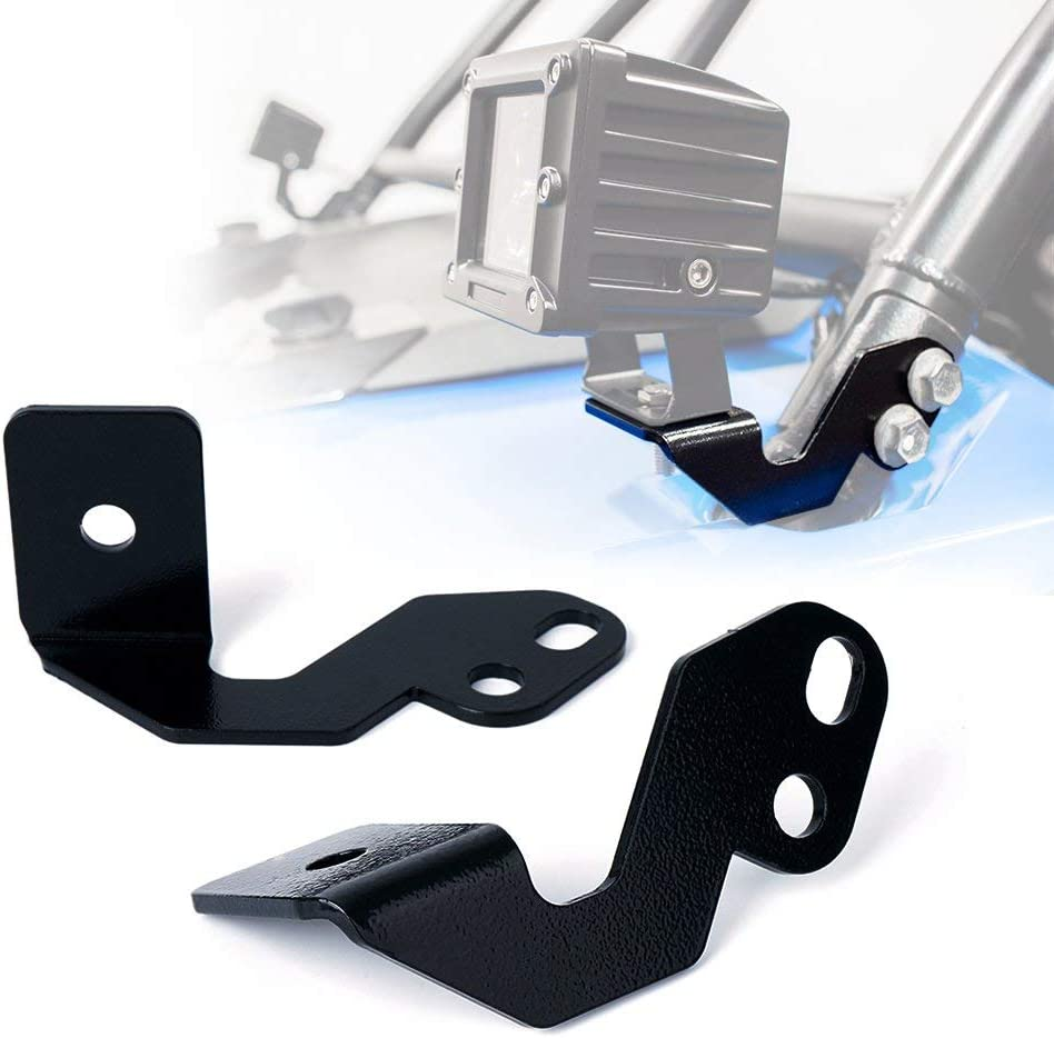 A-Pillar Winshield Led Working Pod Lights Mounting Brackets for 2014-2018 Polaris RZR XP 1000 /& 2015-2018 RZR 900 S900 S1000 EPS