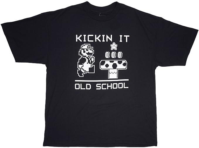 Amazon.com: Nintendo Super Mario Bros. Kickin It Old School ...