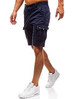 BOLF Hombre Pantalones Cortos Deportivos Short Bermuda Bolsillos Casual 7G7  Motivo 29a8407ce939