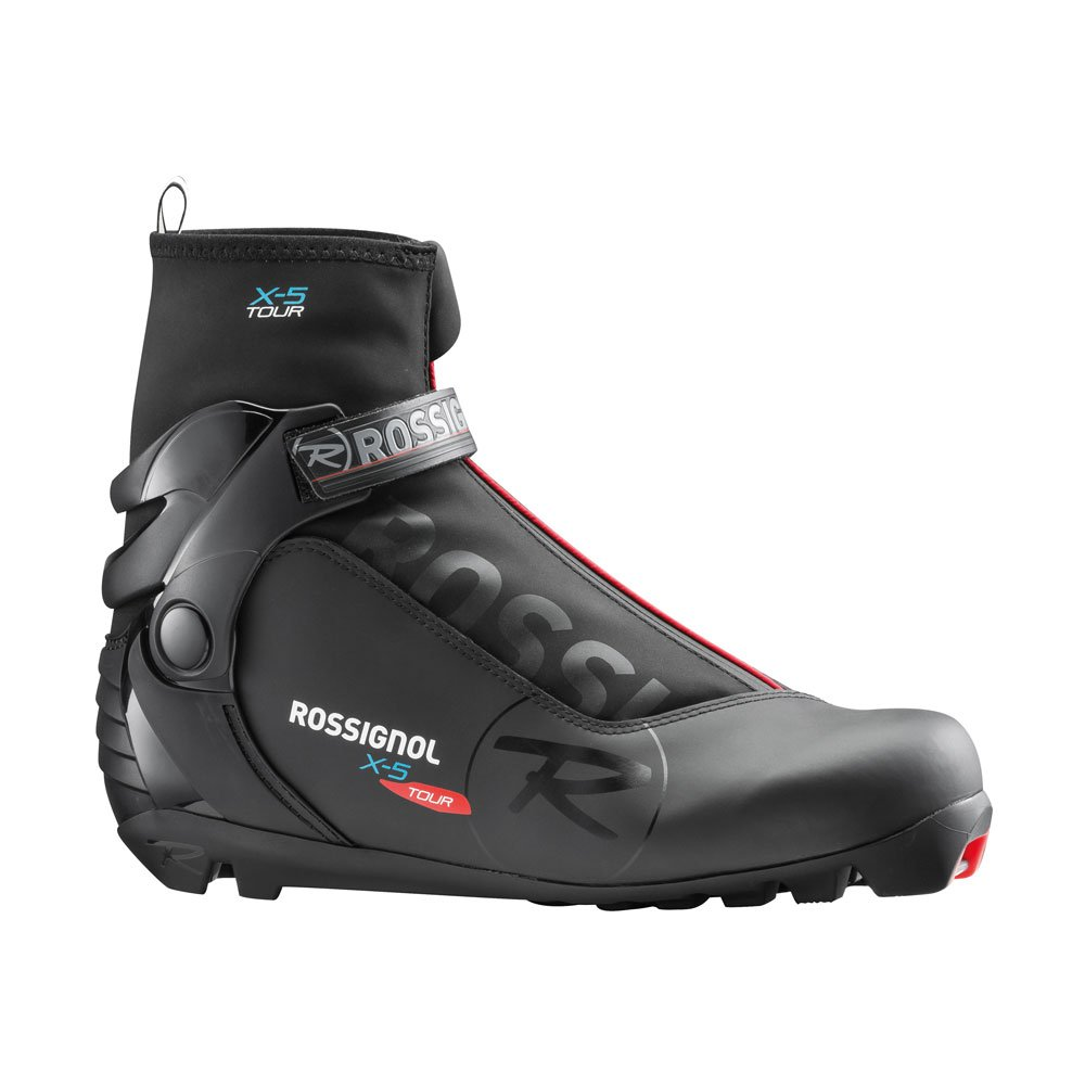 Rossignol X-5 NNN Cross Country Ski Boots 2018 - 46/Black by Rossignol