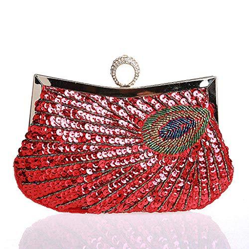 Pochette pour pour Red Wanfor Red pour femme Wanfor Pochette Pochette Wanfor femme AFP7qzA8d