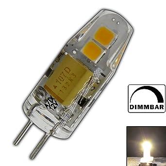 G4 Mini Led 1 5 Watt 12v Ac Dc Dimmbar Warmweiss Aus Silikon Silica