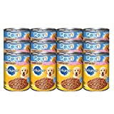 #4: PEDIGREE Meaty Ground Dinner Puppy Complete Chicken and Beef Canned Dog Food