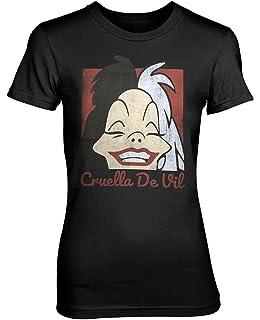 Plastic Head Disney 101 Dalmatians Cruella De Vil Womens Fitted ...