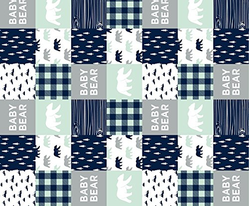 quilting squares baby boy - 8