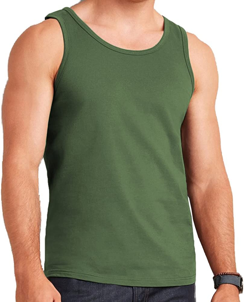 Mens Vest 100/% Cotton Gym Training Tank TOP T Shirt MESH Sleeveless Summer Gym