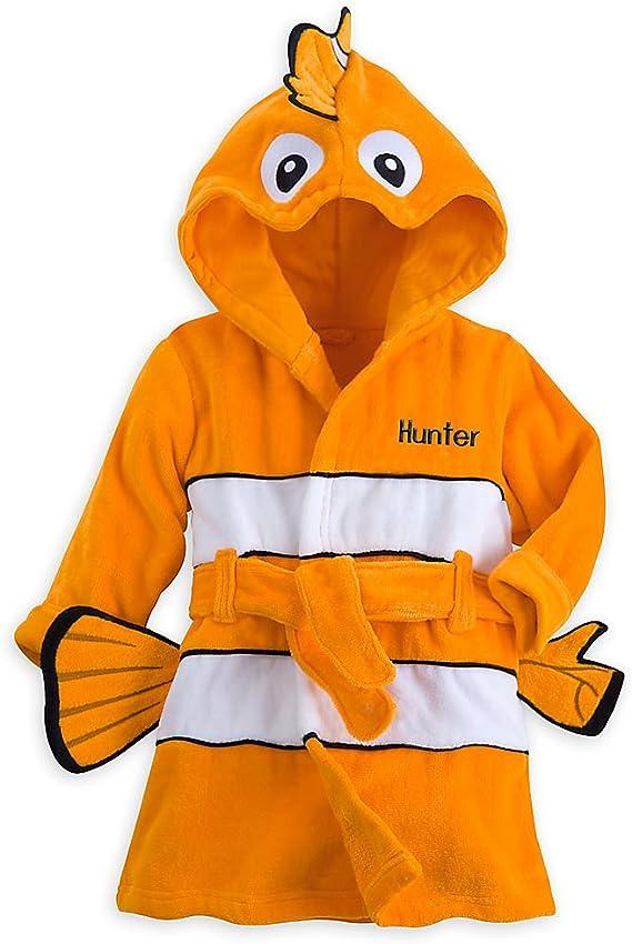Orange 440423847262 Disney Nemo Bath Robe for Baby