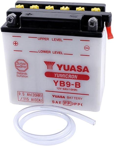 Batterie Yuasa Yb9 B Für Piaggio Vespa Et4 Lx 125 Ccm Baujahr 96 00 Inkl 7 50 Eur Batteriepfand Auto