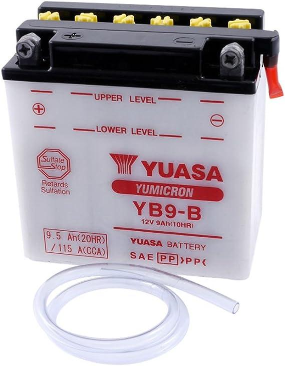 Batterie Yuasa Yb9 B Für Piaggio Nrg Power D T 50 Ccm Auto