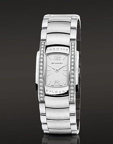 Bvlgari Assioma diamantes de cuarzo reloj de pulsera para mujer aa35 C6sds: Bvlgari: Amazon.es: Relojes