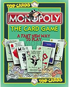 Top Cards - Monopoly The Card Game by Winning Moves: Amazon.es: Juguetes y juegos
