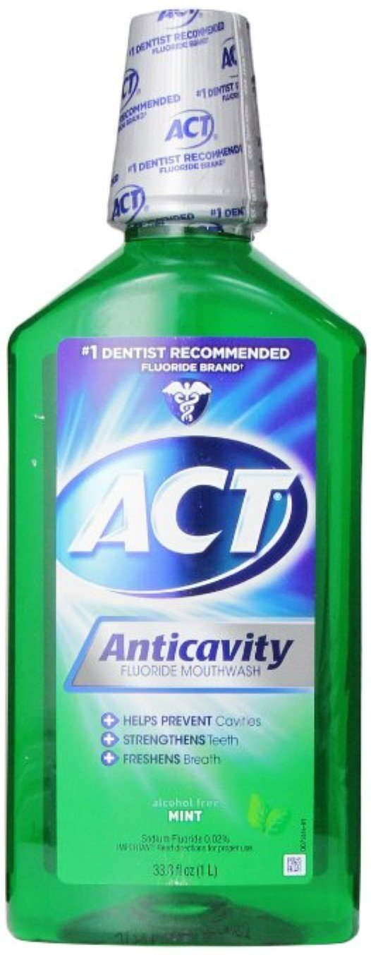 Act Mw Rinse Mint Size 33.8z Act Mw Rinse Mint 33.8z by ACT (Image #1)