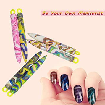 Amazon 2pcsset Professional Magnetic Cats Eye Nail Art Pens