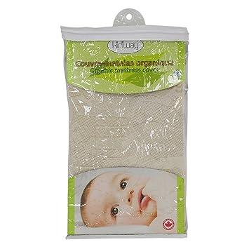 Amazon Com Kidicomfort Organic Fitted Baby Mattress Cover Baby