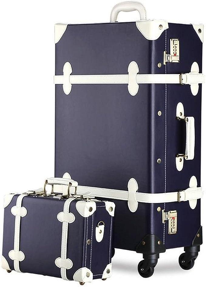 Loadsiten PU Grid suitcase luggage