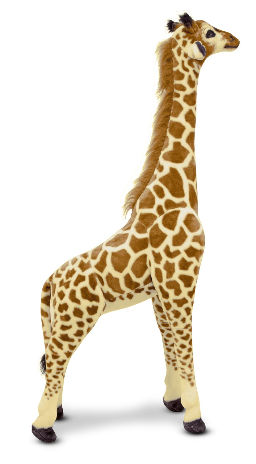 amazon com melissa u0026 doug giant giraffe lifelike stuffed animal
