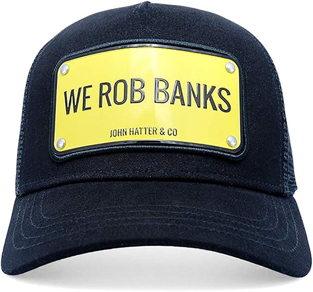 Gorra John Hatter We Rob Banks: Amazon.es: Ropa y accesorios