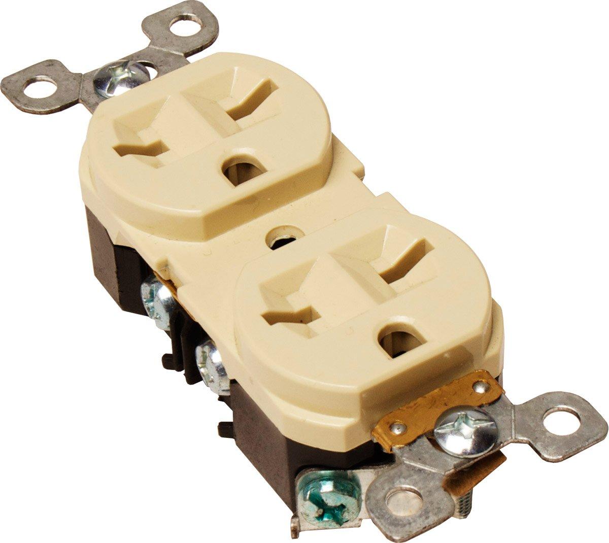 Hydrofarm 15 Amp Duplex Receptacle 240 Volt 250 Plug Wiring Electrical Outlets Garden Outdoor