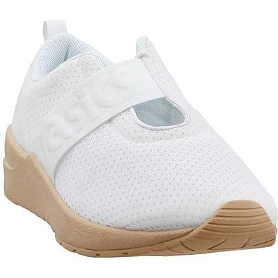 26cbaf695993 ASICS Womens Gel-Lyte Komachi Strap Athletic   Sneakers White