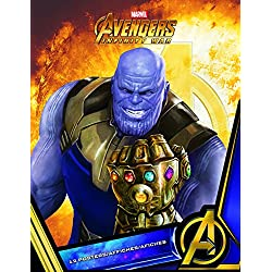 "Trends International Poster Book-Avengers: Infinity War Wall, 8.5"" x 11"" x .25"", Multi"