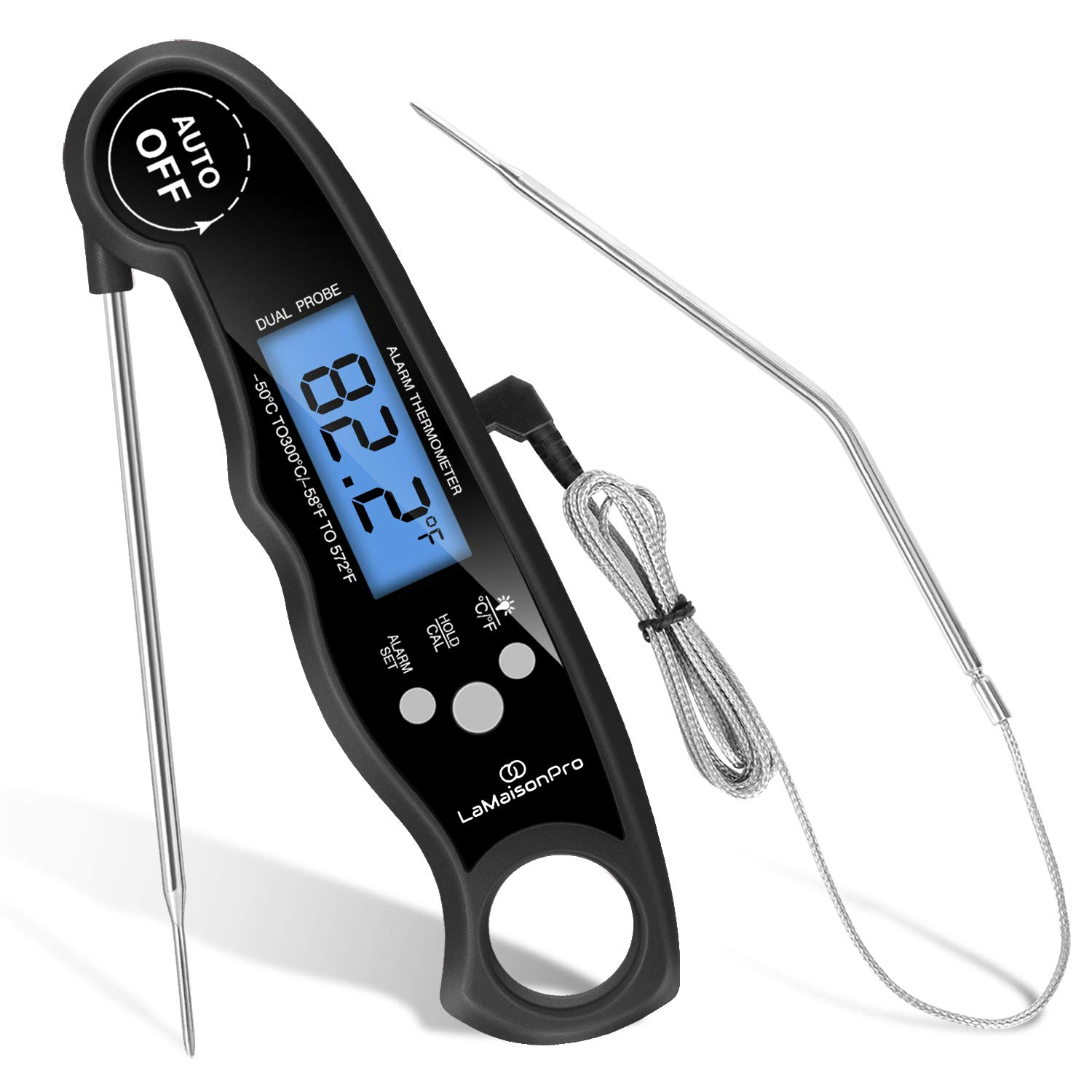 Digital Probe Cooking Thermometer Temperature @ Kitchen Grill BBQ Milk Meat Food