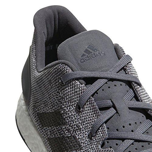 adidas Pureboost DPR, Chaussures de Running Homme, Anthracite/Blanc, 45 1/3 EU Grau (Gretwo/Grefou)