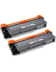 JARBO TN2320 Toner Compatible for Brother TN-2320 Brother HL-L2300D HL-L2340DW HL-L2360DN HL-L2365DW DCP-L2500D DCP-L2520DW DCP-L2540DN MFC-L2700DN MFC-L2700DW MFC-L2720DW L2740DW, Black, Pack of 2