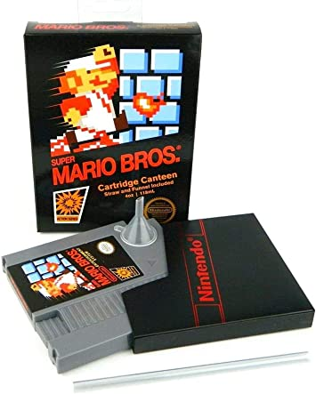 Nintendo Super Mario Bros NES Cartridge Flask | Licensed Merchandise 5oz: Amazon.es: Juguetes y juegos