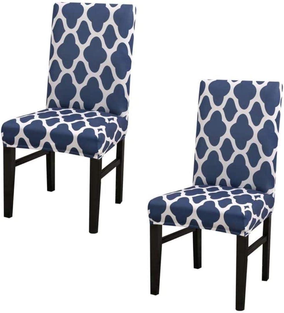 Juego de sillas, cubierta silla alta elástica aplicada de forma desmontable a un restaurante, una pluralidad de aparatos de cocina de color 2, A3,6, Tamaño: 4, color: A6 ( Color : A12 , Size : 6 )