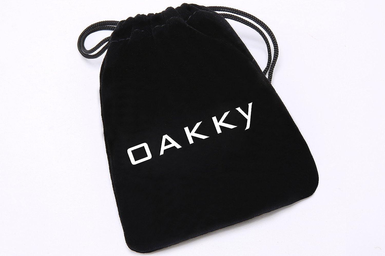 OAKKY Br/újula M/ístico Hip Hop Anillo Hombre Acero Inoxidable