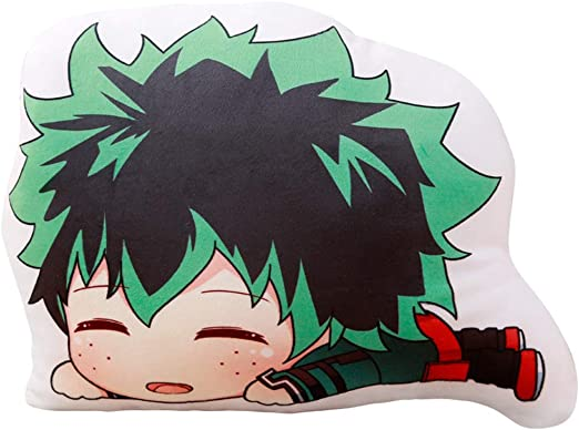 Yunhine My Hero Academia Todoroki Izuku Midoriya Deku Katsuki Throw Pillow Izuku Midoriya 13