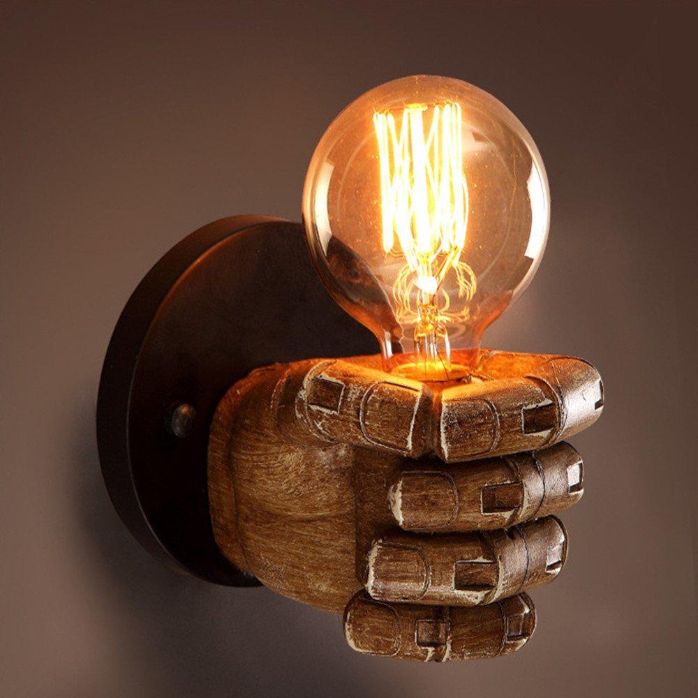E27rústico/ländlich Retro Antigua Corrección Artículo eigenschaft for Mini estilo, Ambiente Luz Lámpara de pared [Clase de eficiencia energética A+++] SDSDFSD 5418151