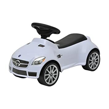 HOMCOM Correpasillos Coche Mercedes Infantil Color Blanco Andador ...