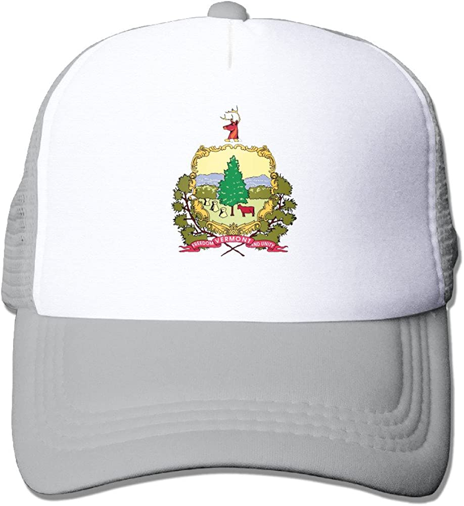 NVOEEwoei Flag of Vermont Cool Snapbacks Cool Hat